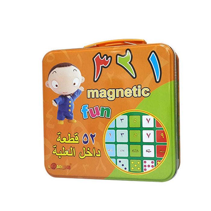Fun 123'S ( Magnetic ) -Arabic