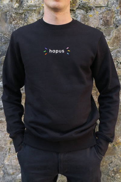 Hapus Sweatshirt in Black