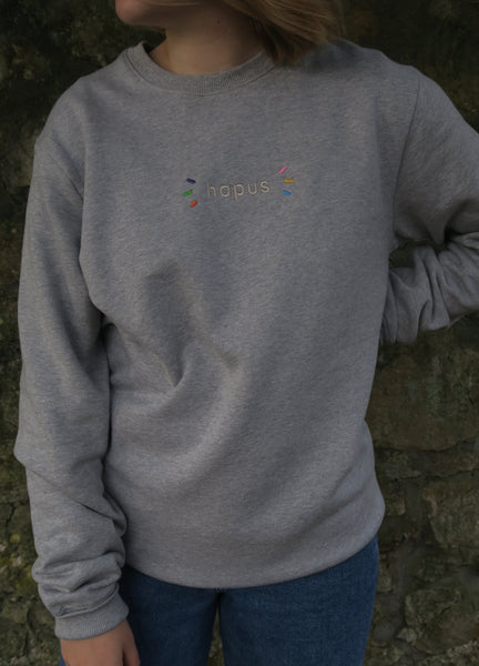 Hapus Sweatshirt in Grey