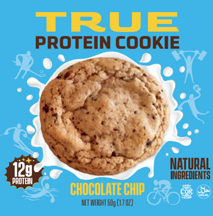 True Nutritionals Inc Chocolate Chip Protein Cookie (all-natural healthy ingredients)