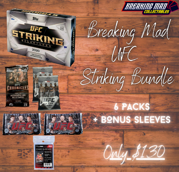 Breaking Mad UFC  Striking Bundle