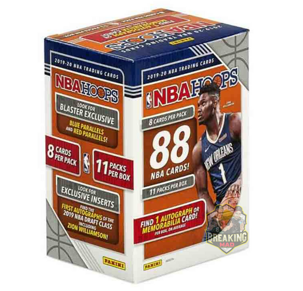 2019/20 Panini NBA Hoops Basketball Blaster Box