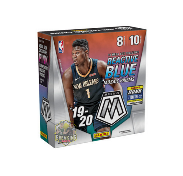 2019/20 Panini Mosaic Basketball Mega Box