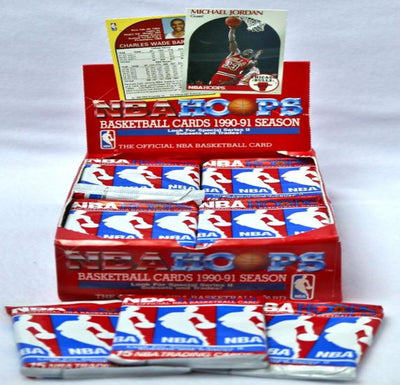 1990-91 NBA Hoops Series 2 Basketball Pack - 15 Cards Per Pack