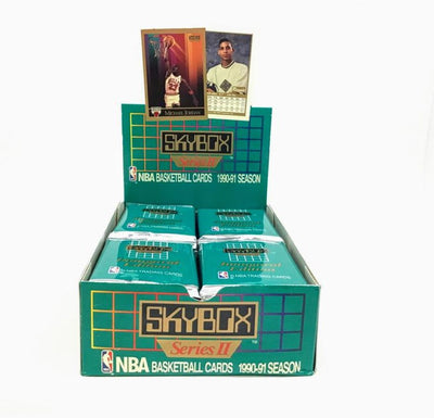 1990-91 Skybox Series 2 Basketball Pack - 15 Cards Per Pack