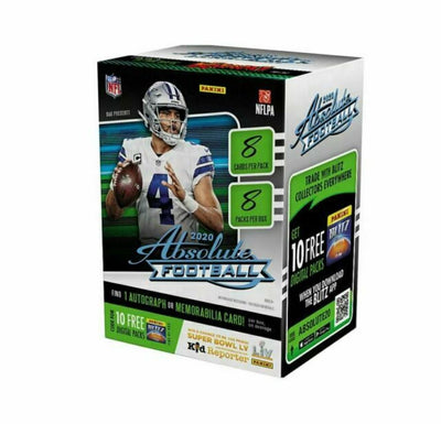 2020 Absolute NFL Football 8 Pack Blaster Box