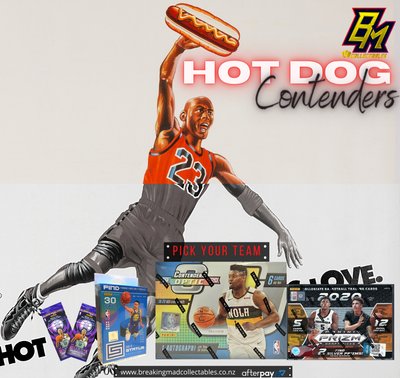 HOT DOG CONTENDERS - NBA Pick Your Team Break (PYT - BM#146)