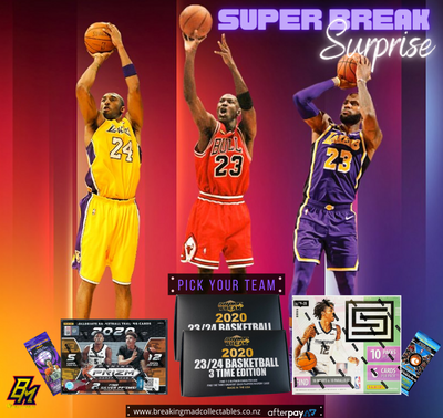 Super Break Surprise - NBA Pick Your Team Break (PYT - BM#147)