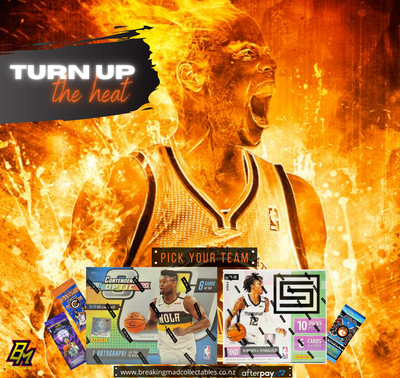 TURN UP THE HEAT - NBA Pick Your Team Break (PYT - BM#158)
