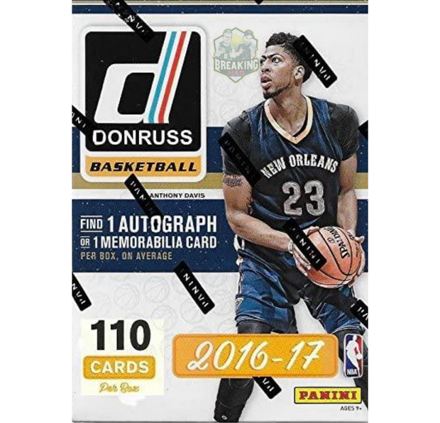 2016-17 Panini Donruss Basketball Blaster Box