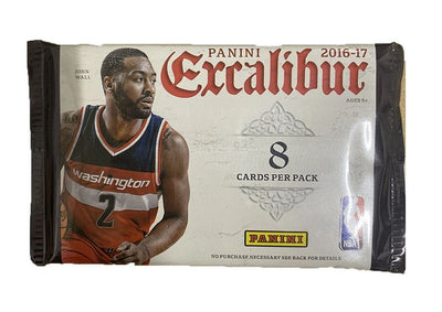 2016/2017 Excalibur Retail Pack - 8 Cards
