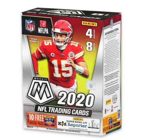 2020 Mosaic NFL Football 8 Pack Blaster Box