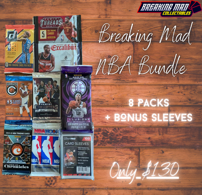 NBA Mega Pack Bundle - 8 Packs - Only $130