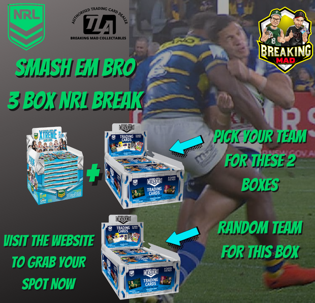 Smashed Him Bro - 2020 NRL Elite PYT + Random Team Break (NRL#004 Monday 7th Sept)