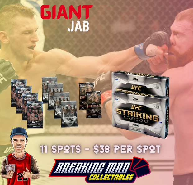 Giant Jab UFC Random Division Break (BM#103)