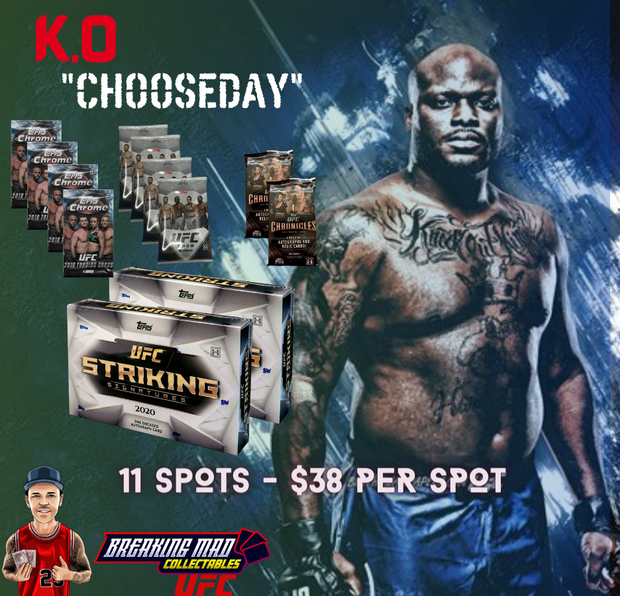 K.O Chooseday UFC Random Division Break (BM#105)