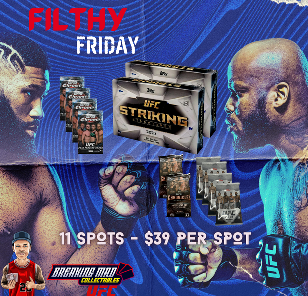 Filthy Friday UFC Random Division Break (BM#108)