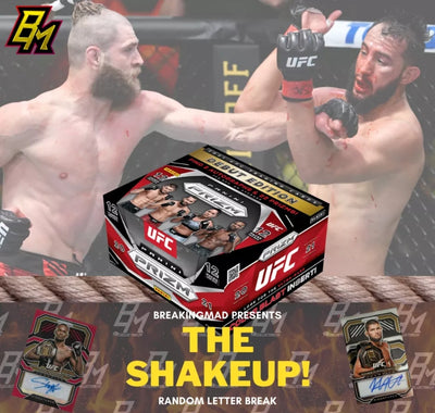 The Shakeup! - UFC Random Letter Break (BM#230)