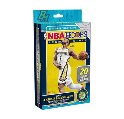 2019/20 Panini NBA Hoops Premium Stock Basketball Hanger Box