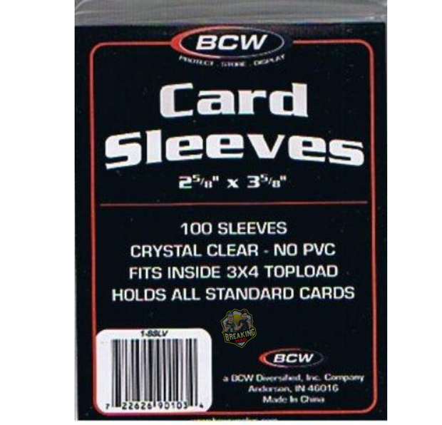 ACC (100) BCW Card Sleeves