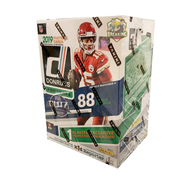 2019 Panini Donruss Football Fanatics Blaster Box
