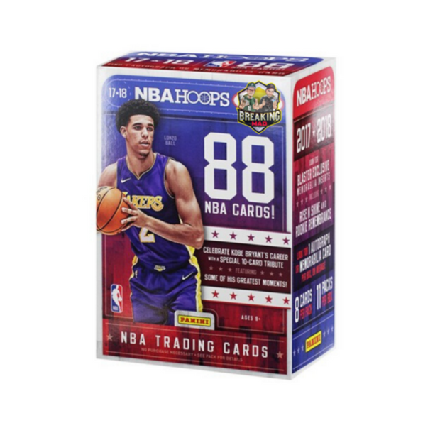 2017/18 Panini NBA Hoops Basketball Blaster Box