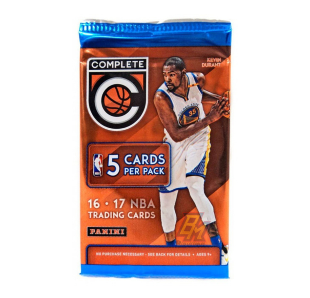 2016/17 Panini Complete Basketball Hobby Pack - 5 Cards
