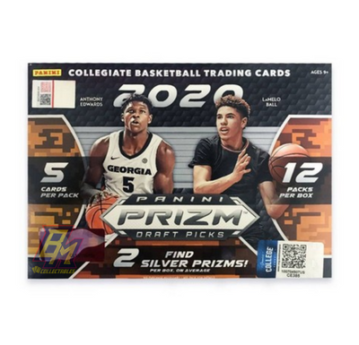 2020-21 Prizm Draft Picks Panini Basketball Mega Box
