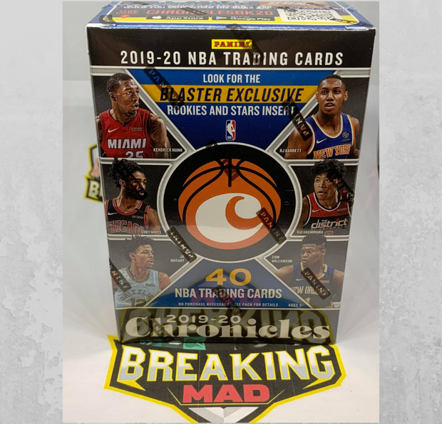 2019/20 Panini NBA Chronicles Blaster Box