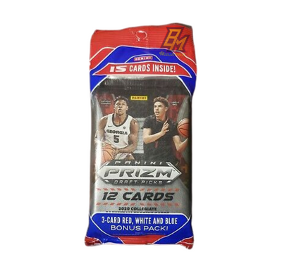 2020-21 Prizm Draft Picks Panini Basketball Cello Pack