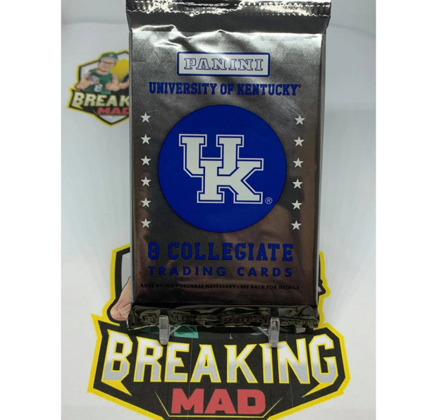 2016 University of Kentucky WildCats Collegiate Trading Cards - Hobby Pack