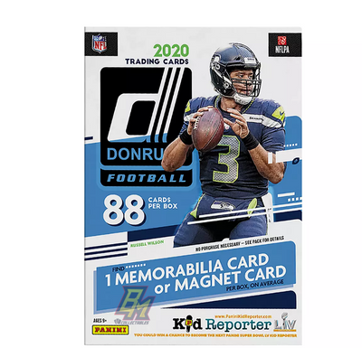 2020 Panini Donruss NFL Football 11 Pack Blaster Box