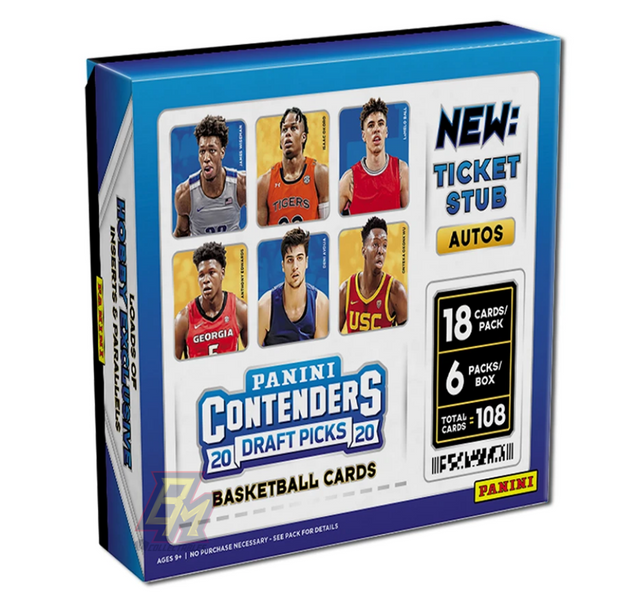 20-21 Panini Contenders Draft Picks Hobby Box