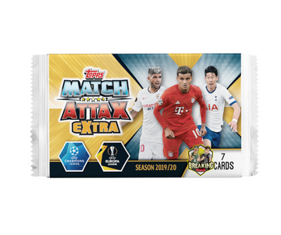 2019/20 Topps UEFA Champions League Match Attax Extra Single Pack