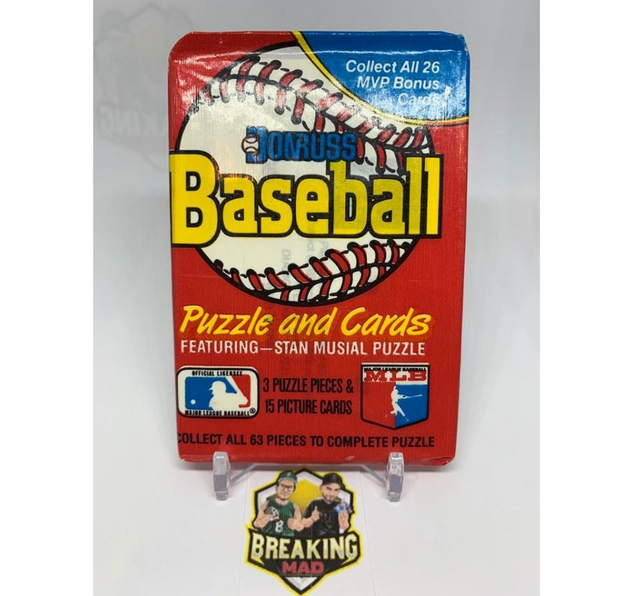 1988 Leaf Donruss Baseball Pack