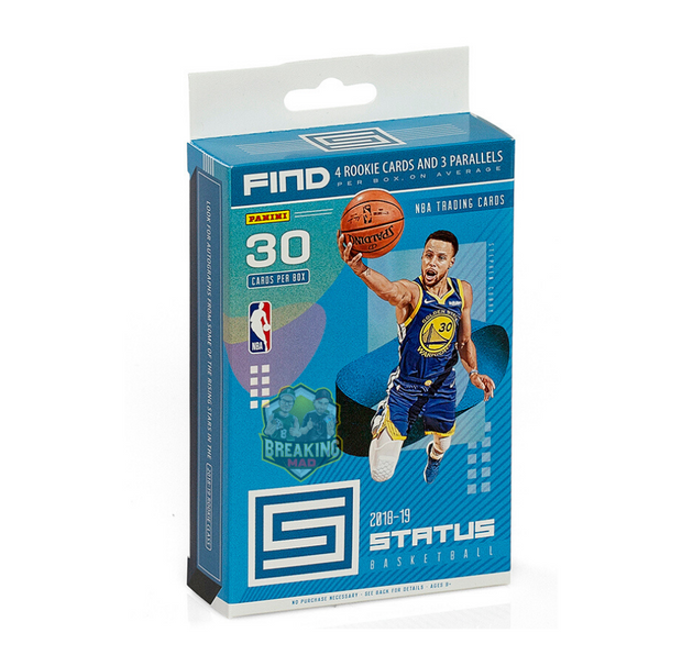 2018/19 Panini Status Basketball Hanger Box