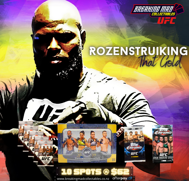 Rozenstruiking That Gold  - UFC Random Division Break (BM#179)