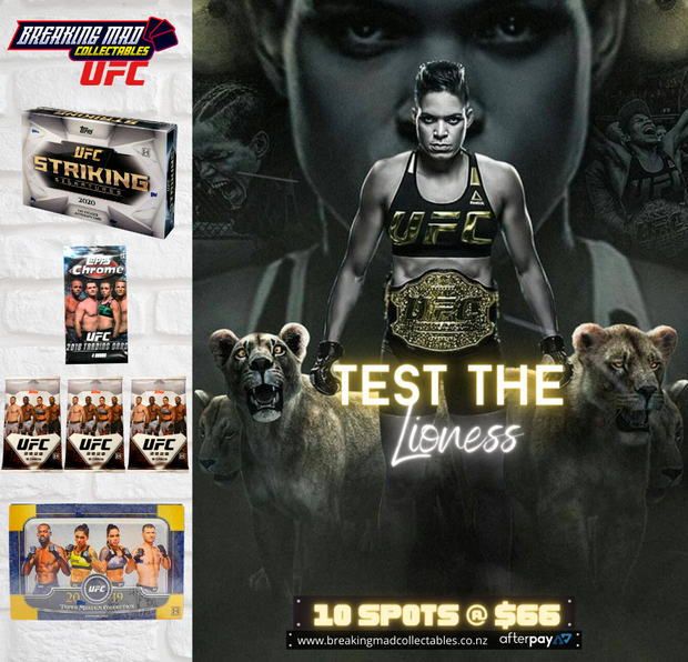 Test The Lioness - UFC Random Division Break (BM#184)