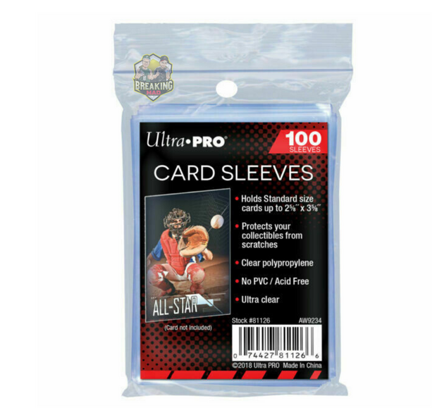 ACC (100) Ultra Pro Penny Card Sleeves