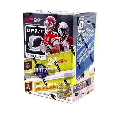 2019 Panini Donruss Optic Football Blaster