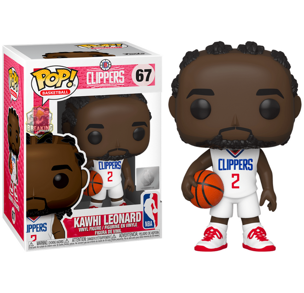 NBA Basketball - Kawhi Leonard Los Angeles Clippers Pop! Vinyl Figure