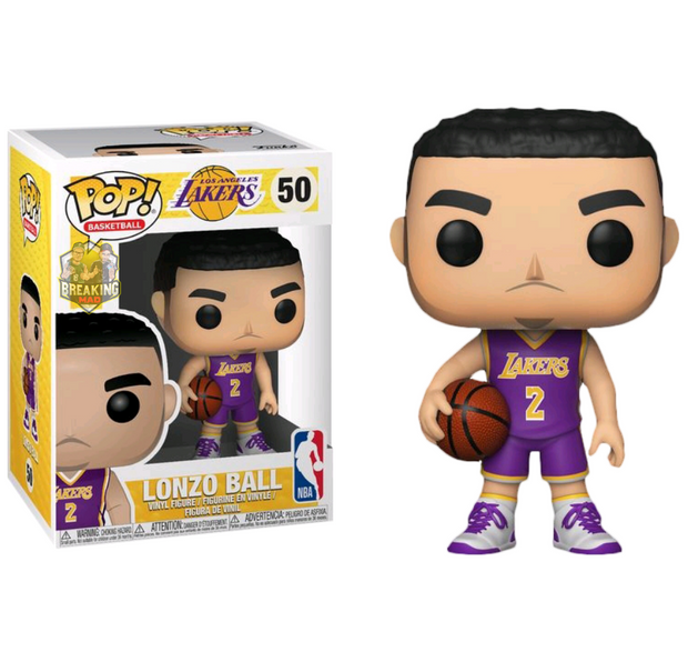 NBA Basketball - Lonzo Ball L.A. Lakers Pop! Vinyl Figure