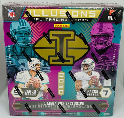 2020 Panini Illusions NFL Football Mega Box