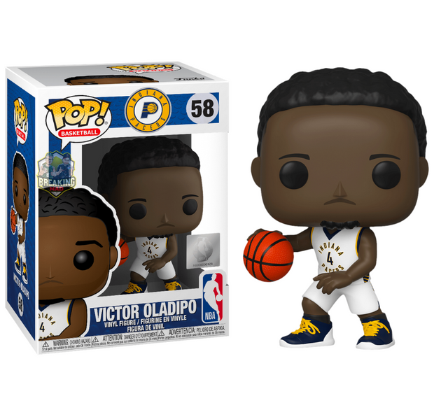 NBA Basketball - Victor Oladipo Indiana Pacers Pop! Vinyl Figure