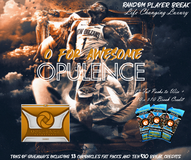 O for Awesome Opulence NBA Random Player Break