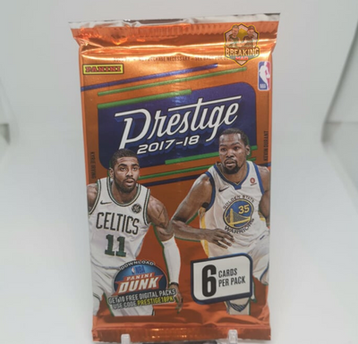 2017/18 Panini Prestige Basketball Single Pack
