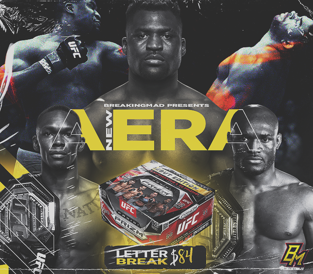 A NEW ERA - UFC Random Letter Break (BM#226)