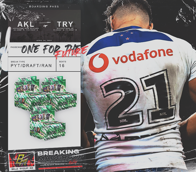 One for the Future - 2021 NRL Traders PYT + Draft Style + Random Team Break (BM#228)