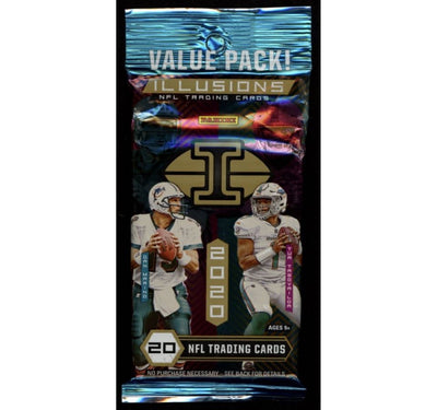 2020 Panini Illusions NFL Football Value Pack - 20 Cards