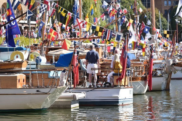 St Katharine Classic Boat Festival - This Weekend!